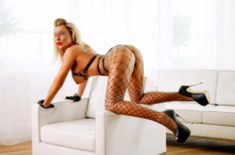 Elite English Blonde - female escort in Glasgow City Centre